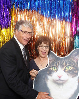 photo booth prop large cat cutout