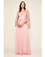 pink mob dresses tadashi shoji lace
