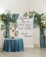 quotes at weddings reception tapestry