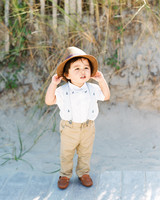 ring bearer hat nautical summer