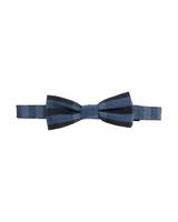 Burberry dark blue bow tie