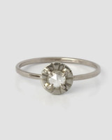 Claire Kinder Diamond Etruscan Ring