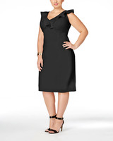 Love Squared Ruffled Bodycon Plus Size Dress