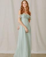 amsale sophie gown sea foam green