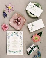 stephanie joe wedding invitation stationery suite