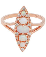 Stone Fox Bride Opal Engagement Ring