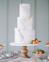 summer wedding cakes marbled tangerines