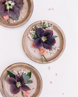 terra cotta wedding decor clay coasters