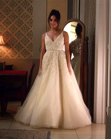 tv wedding dresses rachel zane suits
