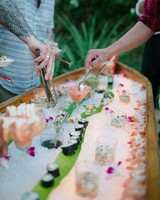 wedding sushi bar