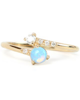 Wwake Opal Engagement Ring