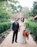 amy mark california couple in garden