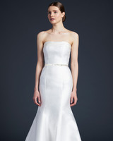 anne barge off the shoulder trumpet wedding dress fall 2019