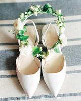 nine west ivory pointed toe heels
