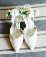 adrianna papell lace trimmed heels
