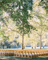 outdoor wedding seating wooden fold chairs