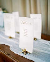 erika evan wedding escort cards