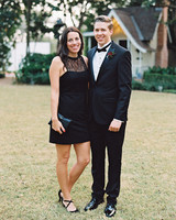 fall wedding guests attire black lace