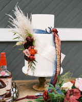 floral wedding cakes jenny haas feather vibrant fall