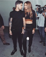 Gigi Hadid and Zayn Malik Holding Hands