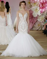 Ines di Santo sexy wedding gown