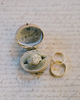 vintage inspired timeless engagement ring