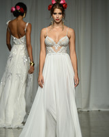 julie vino group fall 2019 a-line spaghetti strap wedding dress