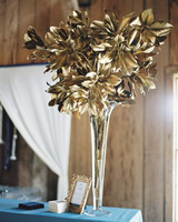 gold leaf arrangement