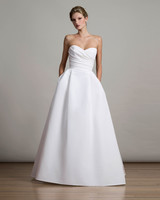 Strapless Plain Wedding Dresses