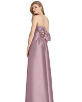 Lela Rose Bridesmaid sateen twill dress