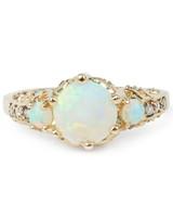ManiaMania Opal Engagement Ring
