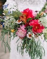 morgan jon paul wedding bouquet