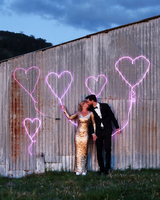 neon heart signs