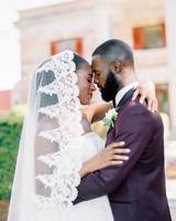 niara allen wedding couple
