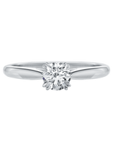 Harry Winston Solitaire Round Brilliant Engagement Ring