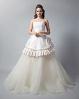 randi rahm strapless a-line ball gown dress fall 2018