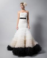 randi rahm strapless trumpet wedding dress fall 2018