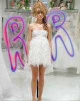 randi rahm fall 2019 short mini skirt dress with feather skirt