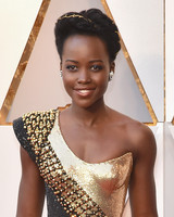 lupita nyong'o beauty look 2018 oscars