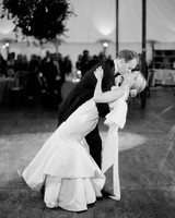 sloan scott wedding couple kissing first dance