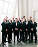 stephanie joe wedding groom and groomsmen