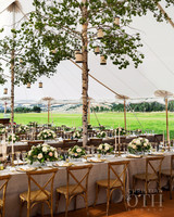 28 Tent Decorating Ideas That Will Upgrade Your Wedding Reception ...