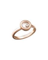 18-Karat Rose Gold and Diamond Engagement Ring