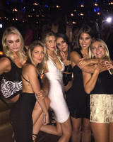 Whitney Port's bachelorette party