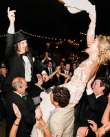 amanda chase wedding couple dancing in crowd