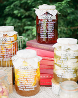 amanda chase wedding reception seating chart up jars up close