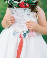 amy mark california program in flower girls hands