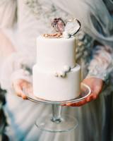 30 Amazing Beach Wedding Cakes | Martha Stewart Weddings