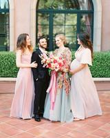 cavin david wedding bride bridal party