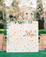 cavin david wedding escort cards board